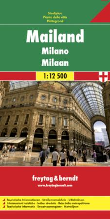 Milanó (teljes) várostérkép - f&b PL 141