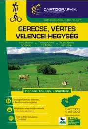 Gerecse, Vértes és Velencei-hegység turistaatlasz - Cartographia
