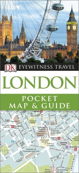 London - DK Pocket Map and Guide