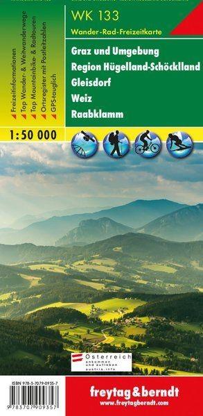 Graz und Umgebung turistatérkép - f&b WK 133