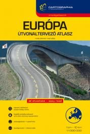 Európa útvonaltervező atlasz - Cartographia