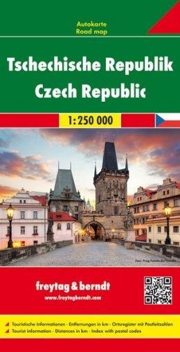 Csehország autótérkép - f&b AK 7603