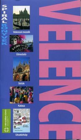 Velence útikönyv - Spirálkönyv