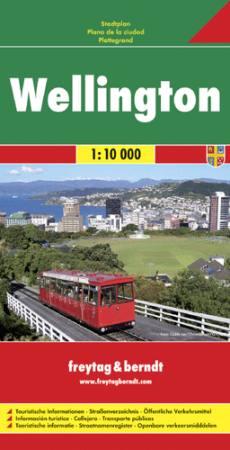 Wellington várostérkép - f&b PL 520