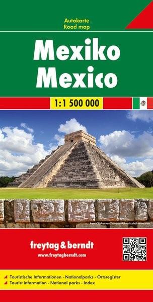 Mexikó autótérkép - f&b AK 169
