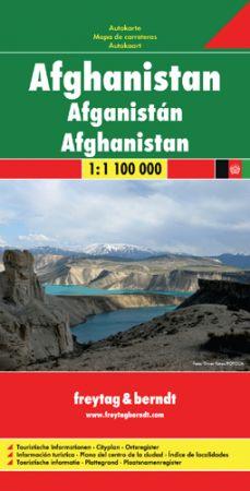 Afganisztán autótérkép - f&b AK 152