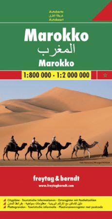Marokkó autótérkép - f&b AK 175