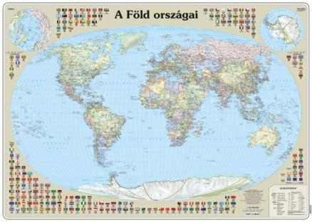 A Föld országai falitérkép - Topográf