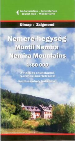 Nemere-hegység turistatérkép - Dimap