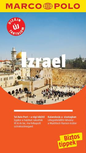 Izrael útikönyv - Marco Polo