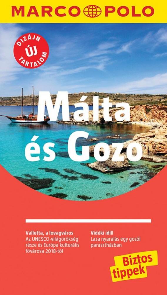 Málta és Gozo útikönyv - Marco Polo