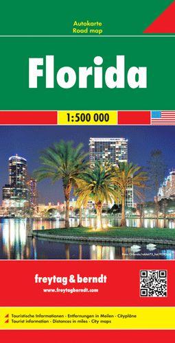 Florida autótérkép - f&b AK 137