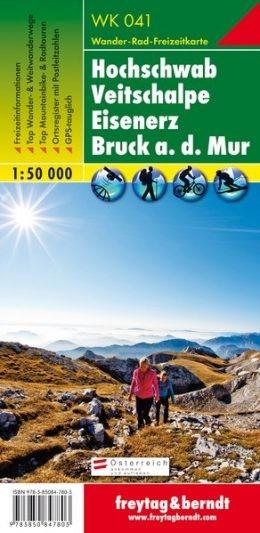Hochschwab-Veitschalpe-Eisenerz-Bruck a.d.Mur turistatérkép - f&b WK 041