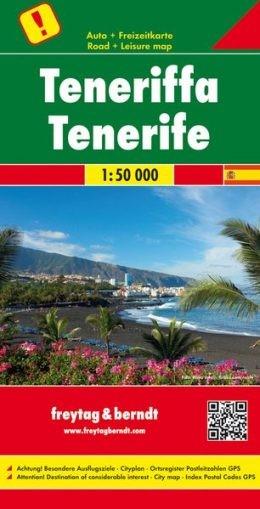 Tenerife autótérkép - f&b AK 0523