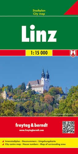 Linz teljes várostérkép - f&b PL 17