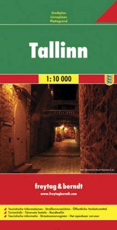 Tallinn várostérkép - f&b PL 101