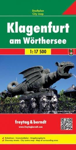 Klagenfurt teljes várostérkép - f&b PL 19