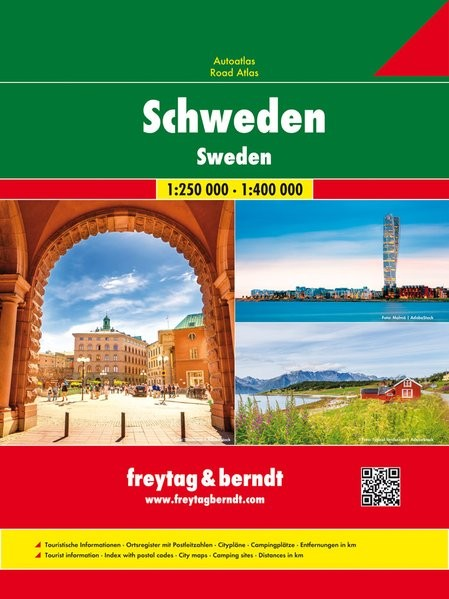 Svédország Supertouring atlasz - f&b STOUR SP