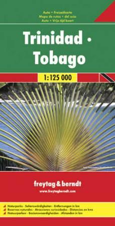 Trinidad és Tobago autótérkép - f&b AK 143