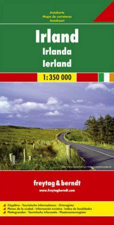 Írország autótérkép - f&b AK 6701