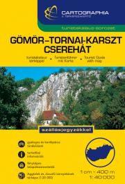 Gömör-Tornai-karszt turistaatlasz - Cartographia