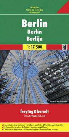 Berlin várostérkép - f&b PL 48
