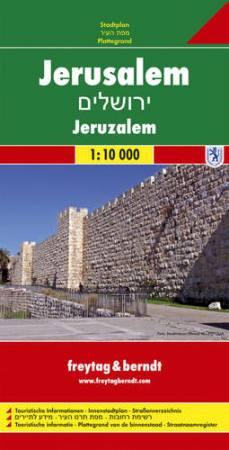 Jeruzsálem belvárostérkép - f&b PL 506