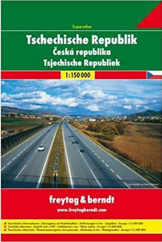 Csehország szuperatlasz - f&b CZ SP