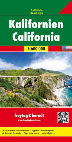 Kalifornia autótérkép - f&b AK 202