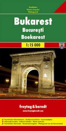 Bukarest várostérkép - f&b PL 99