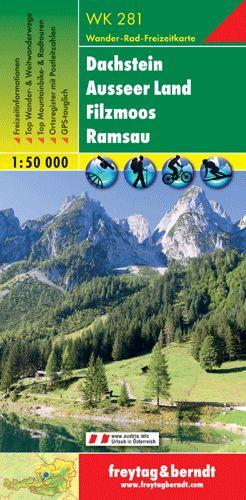 Dachstein-Ausseer Land-Filzmoos-Ramsau turistatérkép - f&b WK 281