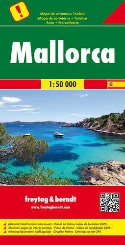 Mallorca autótérkép - f&b AK 0526