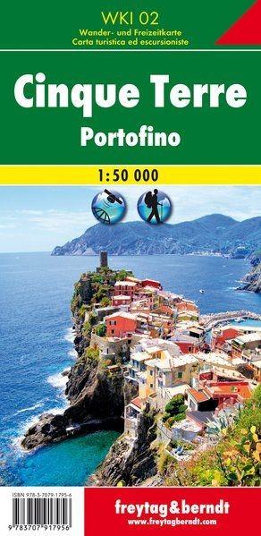 Cinque Terre (Portofino) turistatérkép - f&b WKI 31
