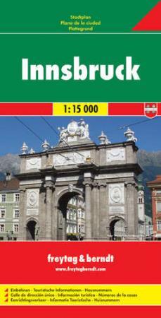Innsbruck teljes várostérkép - f&b PL 16